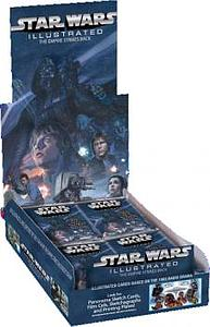 Topps 2015 Star Wars Illustrated - The Empire Strikes Back - Trading Card Booster Box (24 Packs)