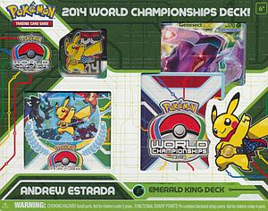Pokemon Trading Card Game 2014 World Championships Deck: Andrew Estrada - Emerald King Deck