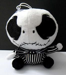 Plush Toy Nightmare Before Xmas 12 Inch Jack Sitting