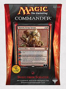Magic the Gathering: Commander 2014 - Built from Scratch Deck (Red)