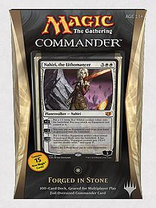 Magic the Gathering: Commander 2014 - Forged in Stone Deck (White)