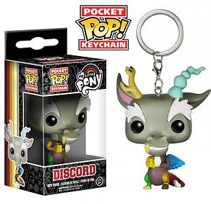 Pop! Pocket Keychain My Little Pony Vinyl Figure Discord