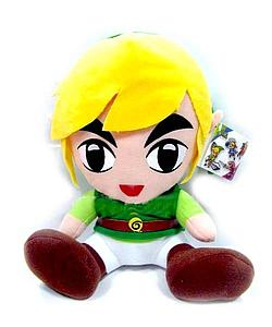 "Legend of Zelda Plush Link Sitting (12"")"