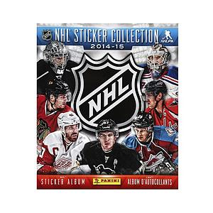 2014-15 Panini NHL Album Stickers Book