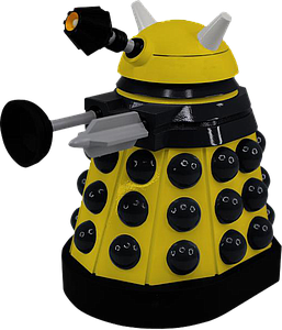 "Doctor Who 7"" Vinyl Figure: Eternal Dalek"