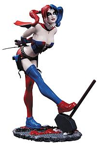 "DC Comics Cover Girls 8"" Statue - Harley Quinn New 52 (2nd Edition)"