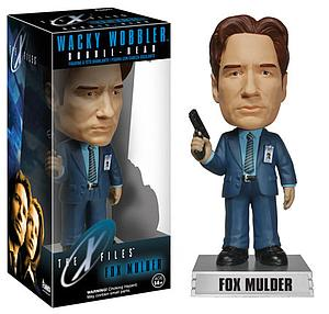 Wacky Wobblers Television The X-Files Fox Mulder Bobblehead (Vaulted)