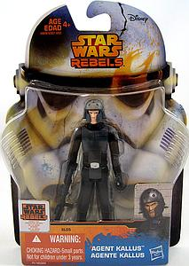 "HASBRO Star Wars Rebels Saga Legends 4"" Action Figure Agent Kallus (SL05)"