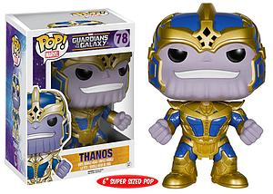 "Pop! Marvel Guardians of the Galaxy Vinyl Bobble-Head 6"" Thanos #78 (Retired)"