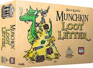 Love Letter Munchkin Loot Boxed Version