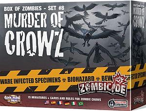 Zombicide: Box of Zombies Set #10 - Murder of Crowz