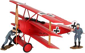 REVELL GERMANY 1:28 Scale Airplane Plastic Model Kit Fokker DR. I Manfred von Richthofen (REV04744)