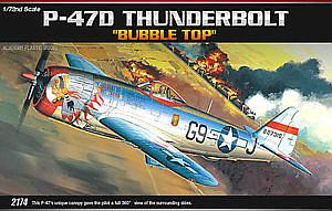 "P-47D Thunderbolt ""Bubble Top"""