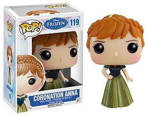 Pop! Disney Frozen Vinyl Figure Coronation Anna #119 (Vaulted)