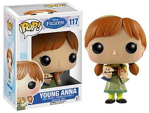 Pop! Disney Frozen Vinyl Figure Young Anna #117 (Vaulted)