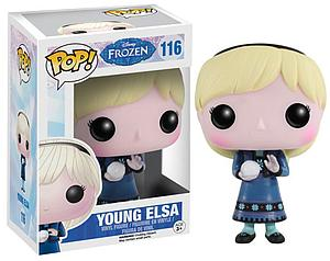 Pop! Disney Frozen Vinyl Figure Young Elsa #116 (Vaulted)