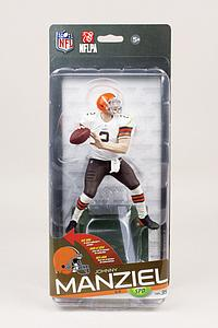 NFL Sportspicks Series 35 Johnny Manziel White Jersey (Cleveland Browns) Collector Level