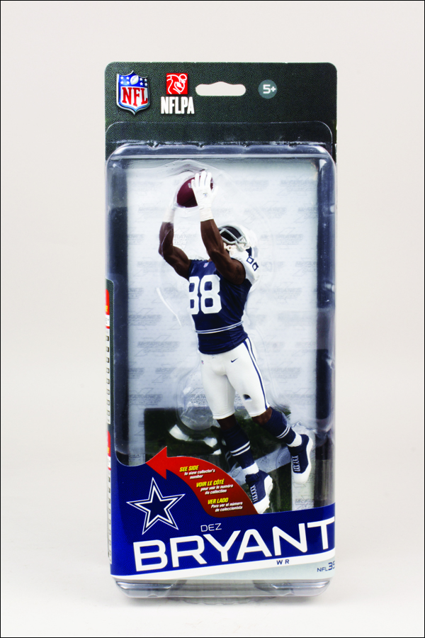 buy popular ed6f9 64132 NFL Sportspicks Series 35 Dez Bryant Blue Jersey (Dallas Cowboys) Collector  Level