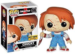 Pop! Movies Child's Play 2 Vinyl Figure Chucky #56 (Hot Topic Exclusive)