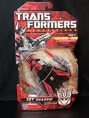 Transformers Generations Series Deluxe Class Sky Shadow