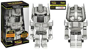 Hikari Sofubi Transformers Japanese Vinyl Figure Optimus Prime (Grey Skull)
