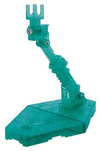 Gundam Action Base 2 1/144 Scale Stand: Sparkle Clear Green