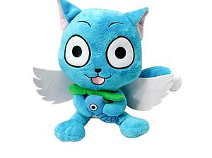 "Fairy Tail Plush Happy with Fish & Wings (12"")"