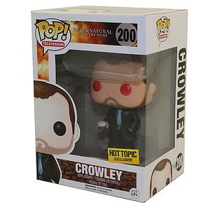Pop! Television Supernatural Vinyl Figure Crowley (Red Eyes) #200 Hot Topic Exclusive