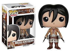 Pop! Animation Attack on Titan Vinyl Figure Mikasa Ackermann #21 (Vaulted)