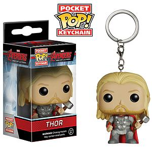 Pop! Pocket Keychain Avengers Age of Ultron Vinyl Figure Thor
