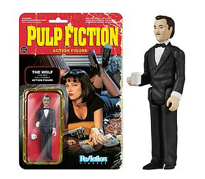 ReAction Figures Pulp Fiction Movie Series The Wolf (Retired)