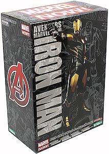 Avengers Marvel Now! 1/10 Scale ArtFX+ Statue: Iron Man Black & Gold
