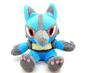 "Pokemon Plush Lucario (6"")"