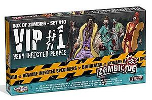 Zombicide: Box of Zombies - Set #10 VIP (Very Infected People) #1