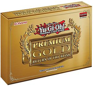 YuGiOh Trading Card Game Premium Gold 2: Return of the Bling Mini Box