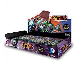 DC Comics Super Villains Trading Cards Box