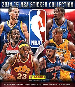 2014-15 Panini NBA Sticker Collection Album