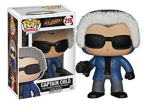 Pop! Television The Flash Vinyl Figure Captain Cold #216 (Vaulted)