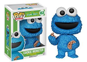 Pop! Television Sesame Street Vinyl Figure Cookie Monster #02 (Retired)