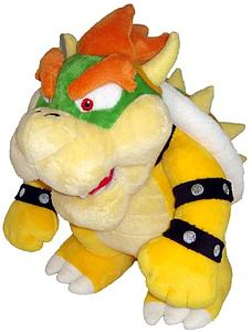 "Mario Bros Plush Bowser Standing(12"")"