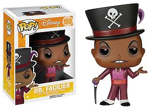 Pop! Disney The Princess & The Frog Vinyl Figure Dr. Facilier #150 (Retired)