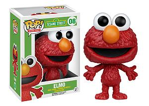 Pop! Television Sesame Street Vinyl Figure Elmo #08 (Retired)