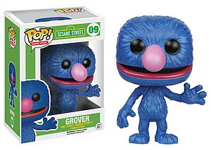 Pop! Television Sesame Street Vinyl Figure Grover #09 (Retired)