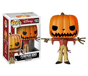 Pop! Disney Nightmare Before Christmas Vinyl Figure Jack the Pumpkin King #153