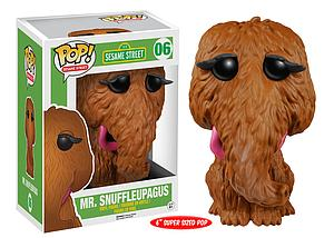 Pop! Television Sesame Street Vinyl Figure Mr. Snuffleupagus #06 (Retired)