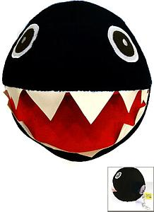 "Plush Toy Super Mario Bros 10"" Chain Chomp"