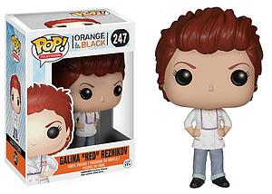"Pop! Television Orange is the New Black Vinyl Figure Galina ""Red"" Reznikov #247 (Vaulted)"