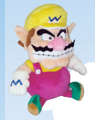 "Plush Toy Super Mario Bros 10"" Wario"