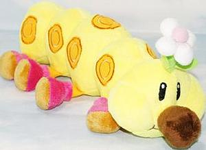 "Super Mario Bros Plush Wiggler (12"")"