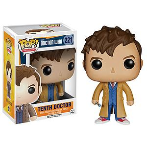 Pop! Television Doctor Who Vinyl Figure Tenth Doctor #221